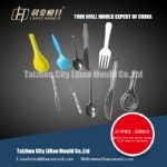 dishware mould of spoon  fork and hnife