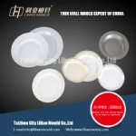 disposable round thin wall plate mould