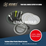 PS thin wall plate mould expert