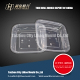 500ml disposable thin wall square container mould