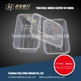 650ml 1000ml thin wall square container mould