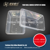 650ml disposiable square container mould