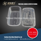 750ml food square conatiner mould