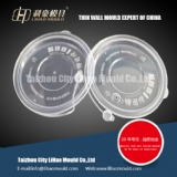 thin wall lid of round container mould