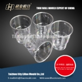 transparent thin wall cup mould