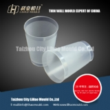 thin wall cup mould with texture