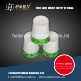 IML mould of thin wall cup