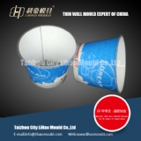 4 cavities of cup IML mould