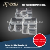 multi cavities of compartment lunch box mould