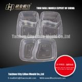 two compartment lunch box mould