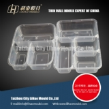water sealing compartment lunch box mould