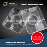thin wall fiave compartment lunch box mould