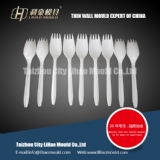 spoon with fork thin wall dishware mould