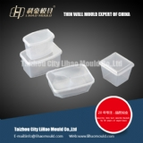 disposable microwave thin wall square container mould