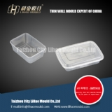 PP thin wall square container mould solution