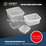 thin wall square container mould expert