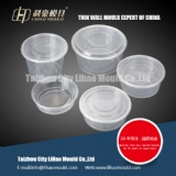 take away thin wall round container mould