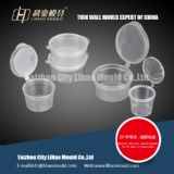 ketchup thin wall round container mould