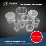 various shapes of thin wall round container mould
