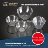 PS thin wall bowl of round container mould