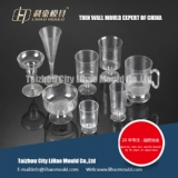 dispossable wine thin wall cup mould
