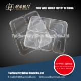 plastic thin wall lid of lunch box mould