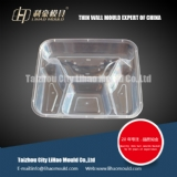 thin wall disposable lunch box mould