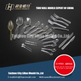 transparent spoon fork knife dishware mould